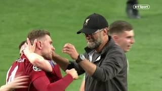 How can you not love him? Jurgen Klopp hugging players after the final whistle