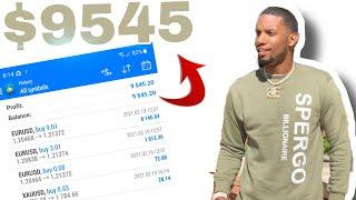 FOREX TRADING $9,545 IN 2 DAYS | JEREMY CASH | FOREX N.B.A STRATEGY 2021