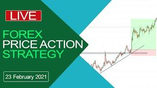 Live Intraday Trading Today | Forex Price Action Trading | price action trading strategies