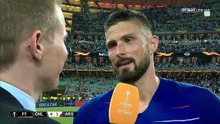 """""""Arsenal changed my life!"""" Olivier Giroud reacts to winning the Europa League final"""