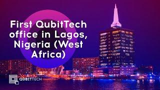 First QubitTech office in Nigeria