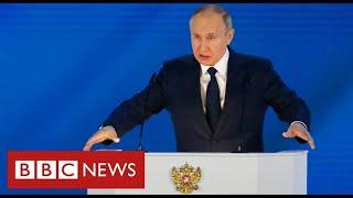 """Putin warns West of """"rapid and harsh"""" response from Russia if it crosses """"red lines"""" - BBC News"""