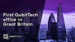 First QubitTech office  in Great Britain