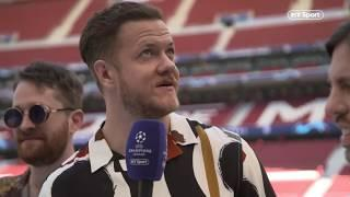 Champions League headliners Imagine Dragons are ready to kick things off in Madrid