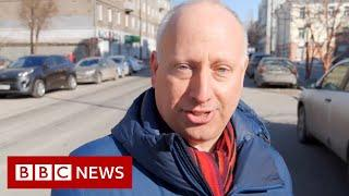 Under surveillance while reporting on future of Putin's Russia - BBC News
