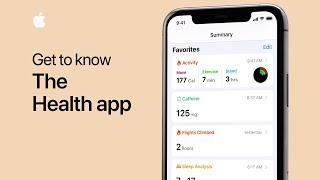 Get to know the Health app on your iPhone - Apple Support