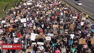 President Trump demands tougher response as protests escalate across America - BBC News